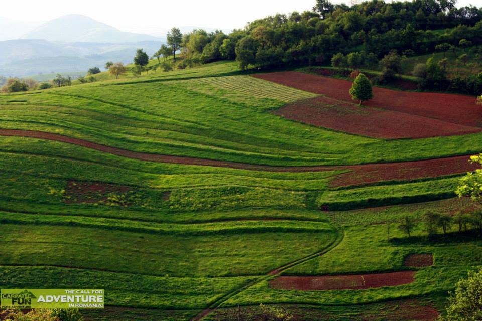 Peisaj pitoresc din satul Izbuc