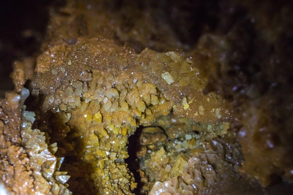 Cristale din Peștera Farcu