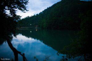 Seara pe Lacul Vida