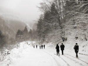 Iarna prin Boga