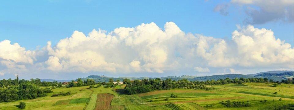 Landscape village Bratca