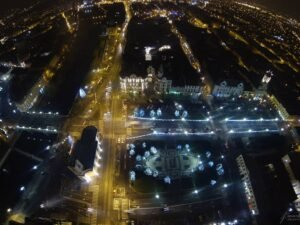 Piata Unirii privita, Foto by Amazing Visuals