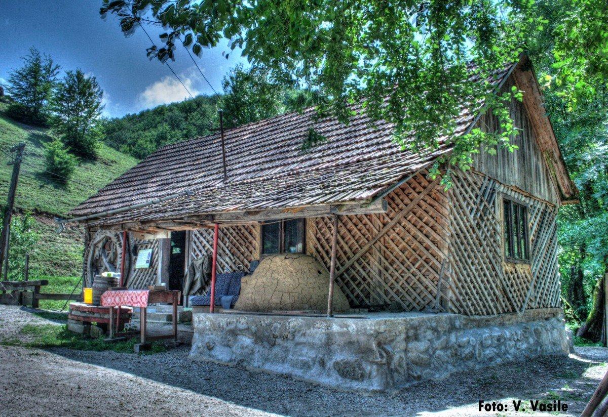 Water Mill in Roșia village