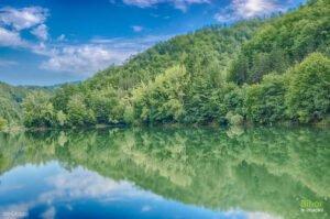 Lacul Vida, dimineata