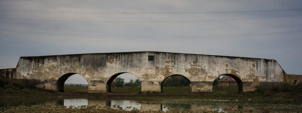 Old brick bridge