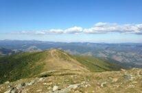 Toward Bihor peak