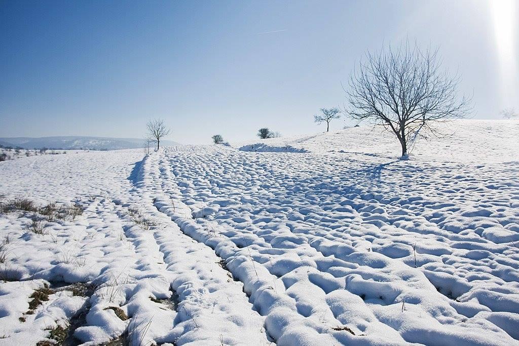 O dimineață de iarnă în Vârciorog