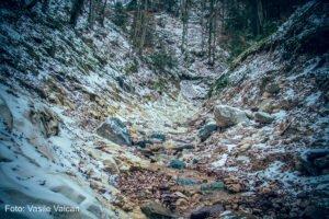 Valea Seacă iarna