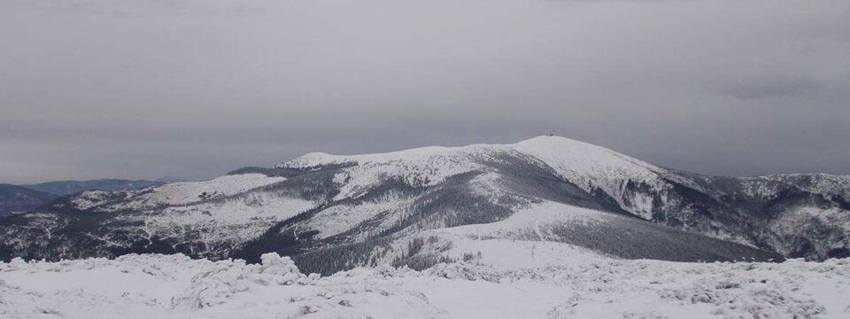 Iarna Spre vârful Bihor