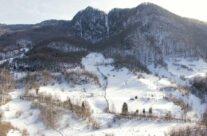 Panoramic view from Piatra Bulzului peak