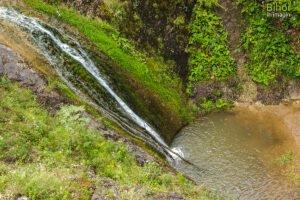 Cascada Boiului privita de sus