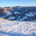 Iarna pe dealuri din Remeti