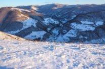 Iarna pe dealurile din Remeți