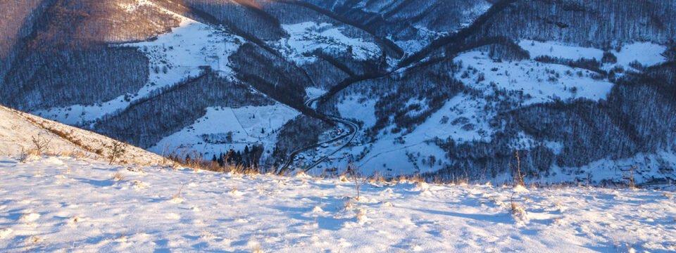 Winter in Pădurea Craiului Mountains