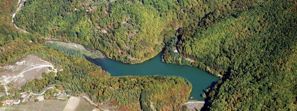 Vida Lake from above