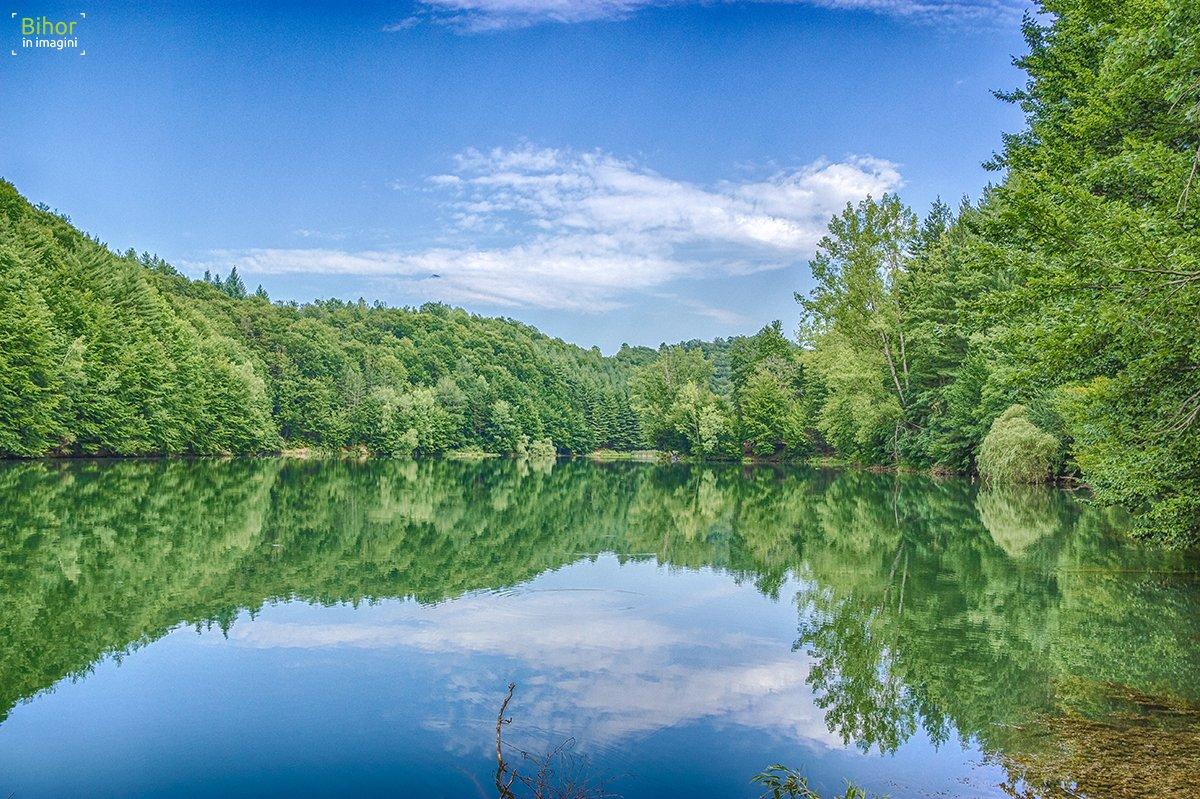 A summer day on Vida Lake