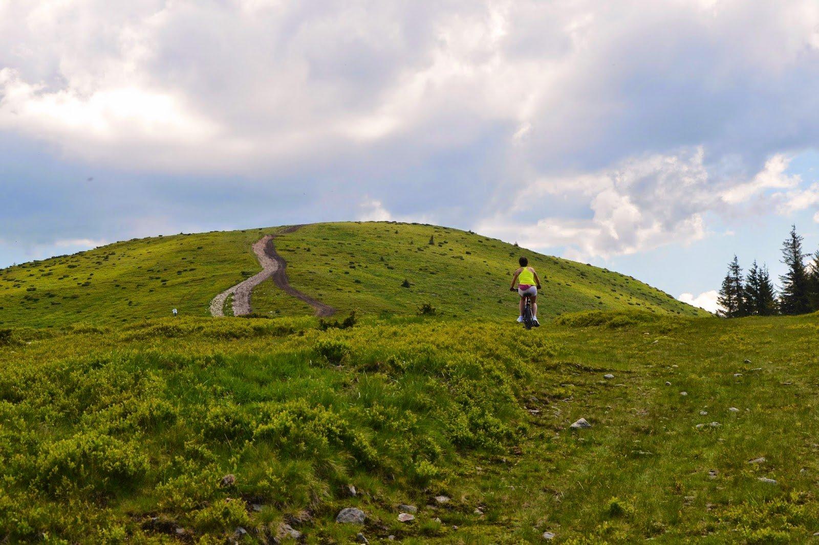 Traseu montan pe bicicleta: Stâna de Vale – Vf Poieni (1627 m)