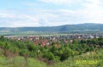 Vedere spre orașul Aleșd