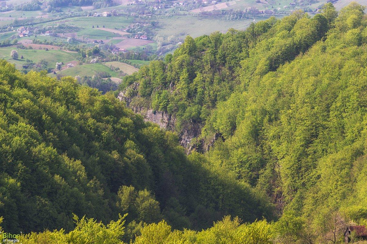 Cheile Cuților și satul Roșia
