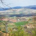 Vedere asupra satului Astileu