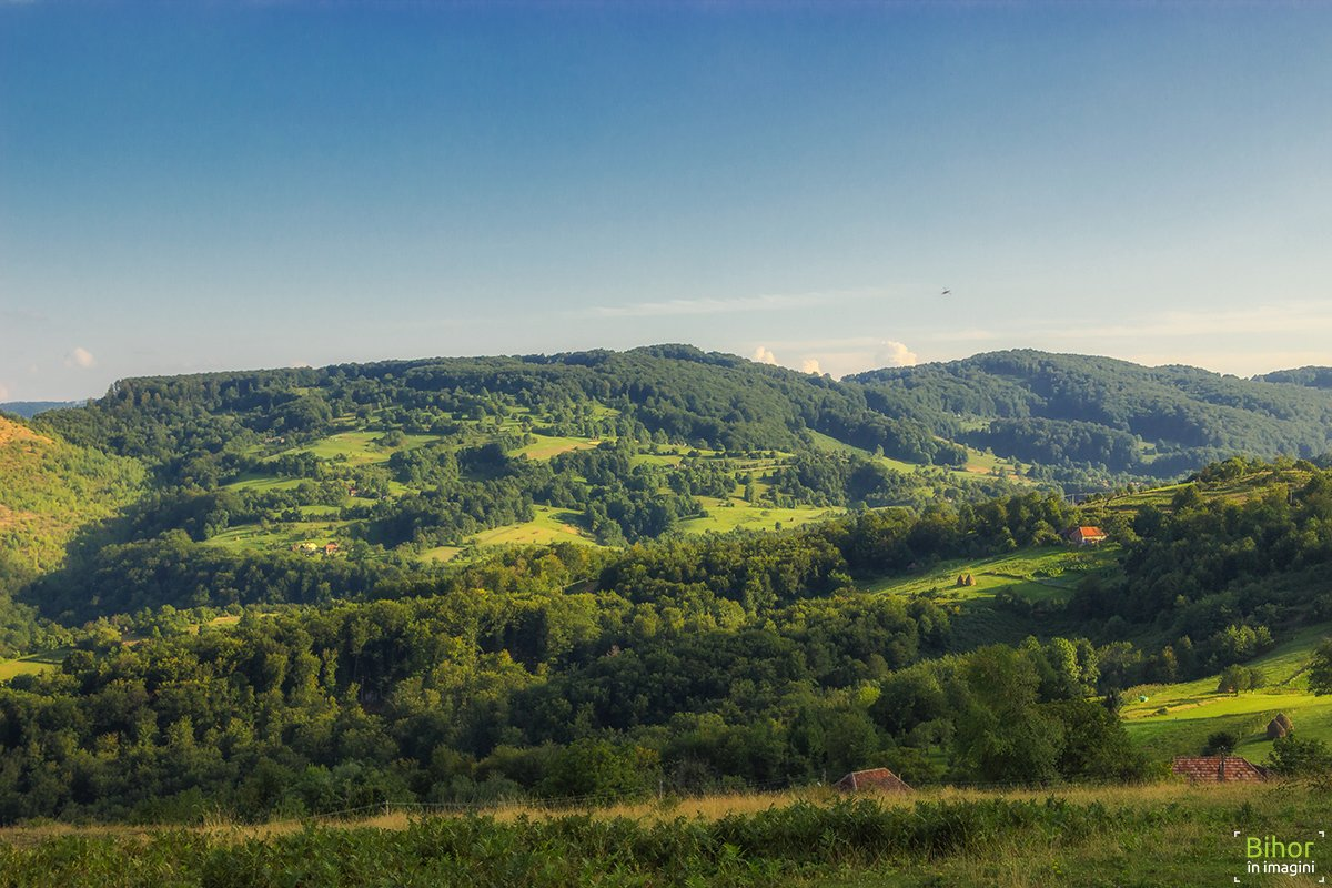 Vedere panoramică de pe Dealul Popii