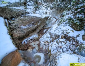 Canionul Valea Seaca Iarna03