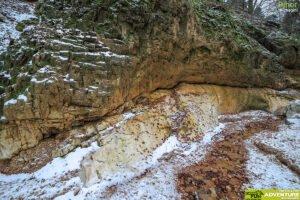 Canionul Valea Seaca Iarna06