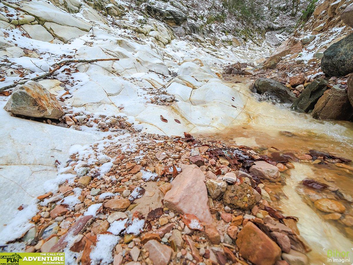 Canionul Valea Seaca Iarna