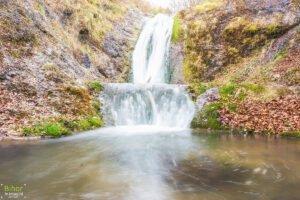 Cascada Boiului vedere