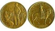La 8 iunie 1940 cu ocazia aniversarii a 10 ani de la revenirea in Romania , Regele Carol al II lea a emis o moneda de aur de 42 g , cu diametrul de 41 mm care o reprezinta pe fata care a adus apa regelui in 6 iunie 1930 la Vadu Crisului .
