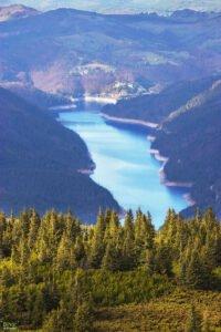Barajul Dragan de pe Vf Buteasa
