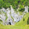 Peștera de la Acre vedere panoramica