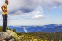 Vârful Buteasa rezervaţia naturală la 1792 m