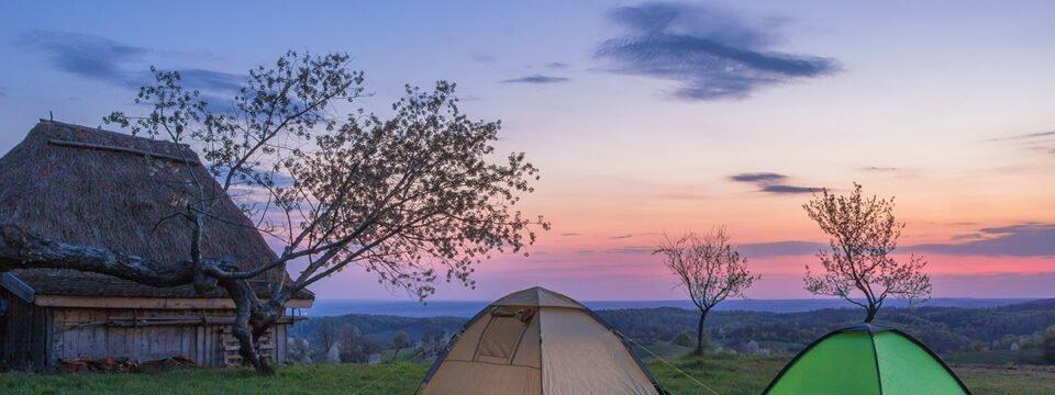 Sunset viewed from Runcuri Plateau
