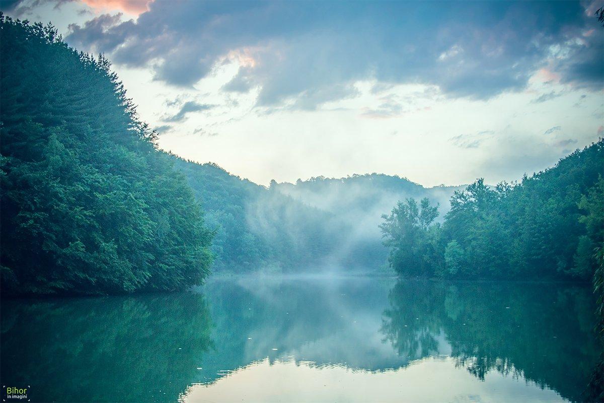 Dimineața pe Lacul Vida