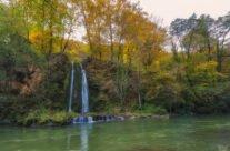 Cascada Vadu Crișului, toamna
