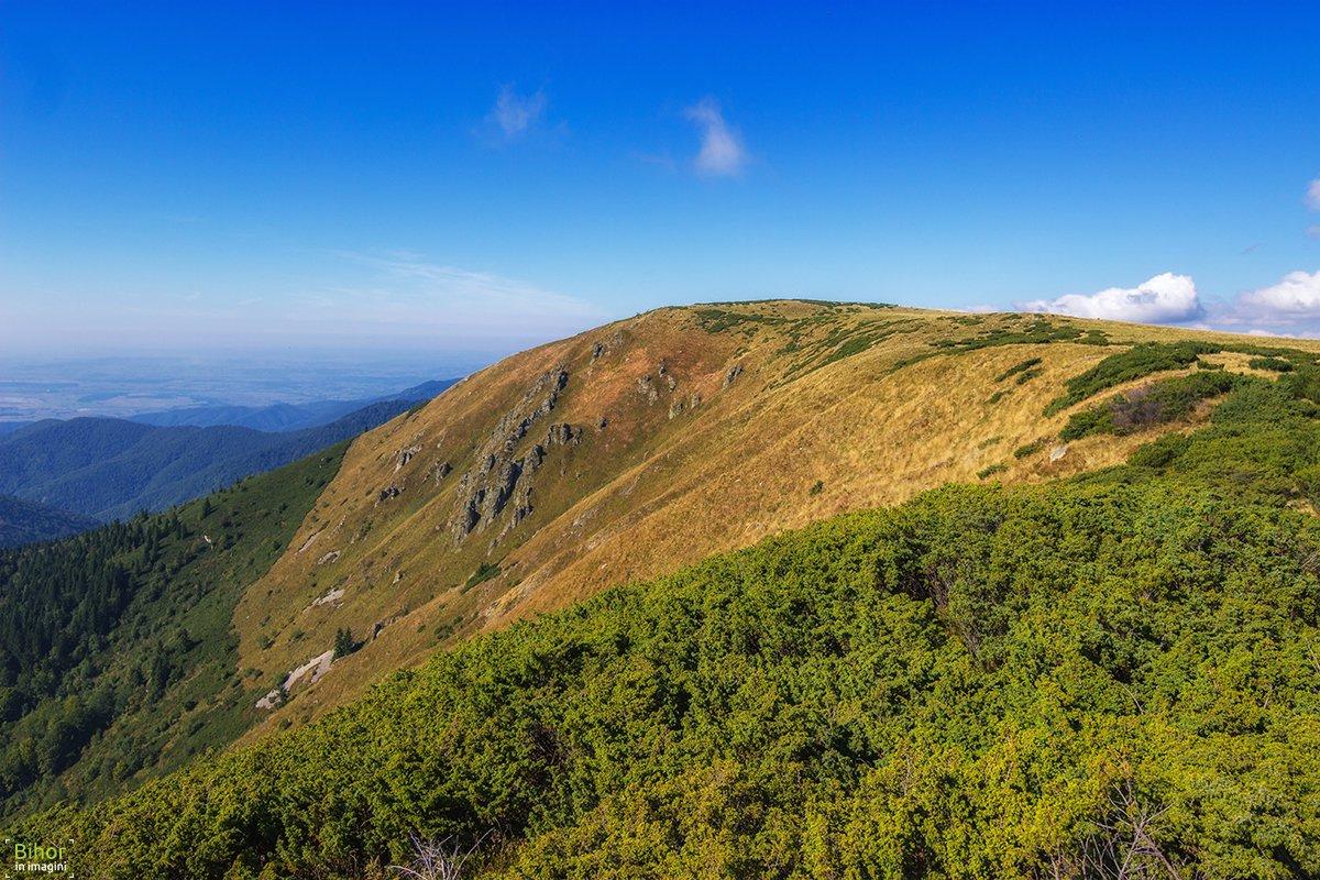View from Cârligați peak