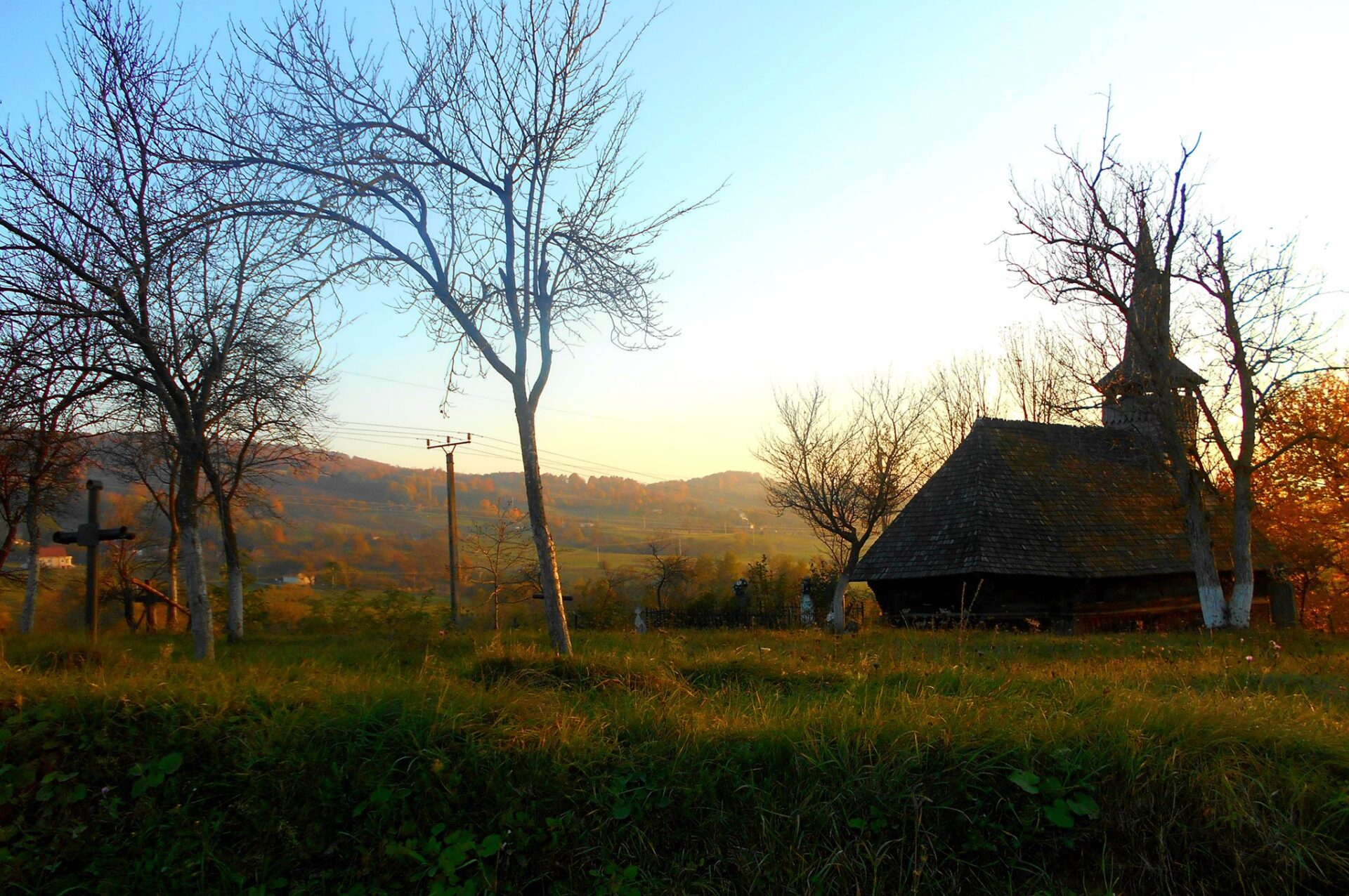 The wooden church from Crişului valley