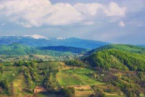 Munții Apuseni din Satul Rosia