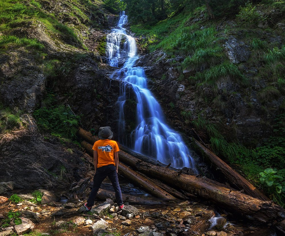 Bohodei waterfall – the highest in the Apuseni Mountains