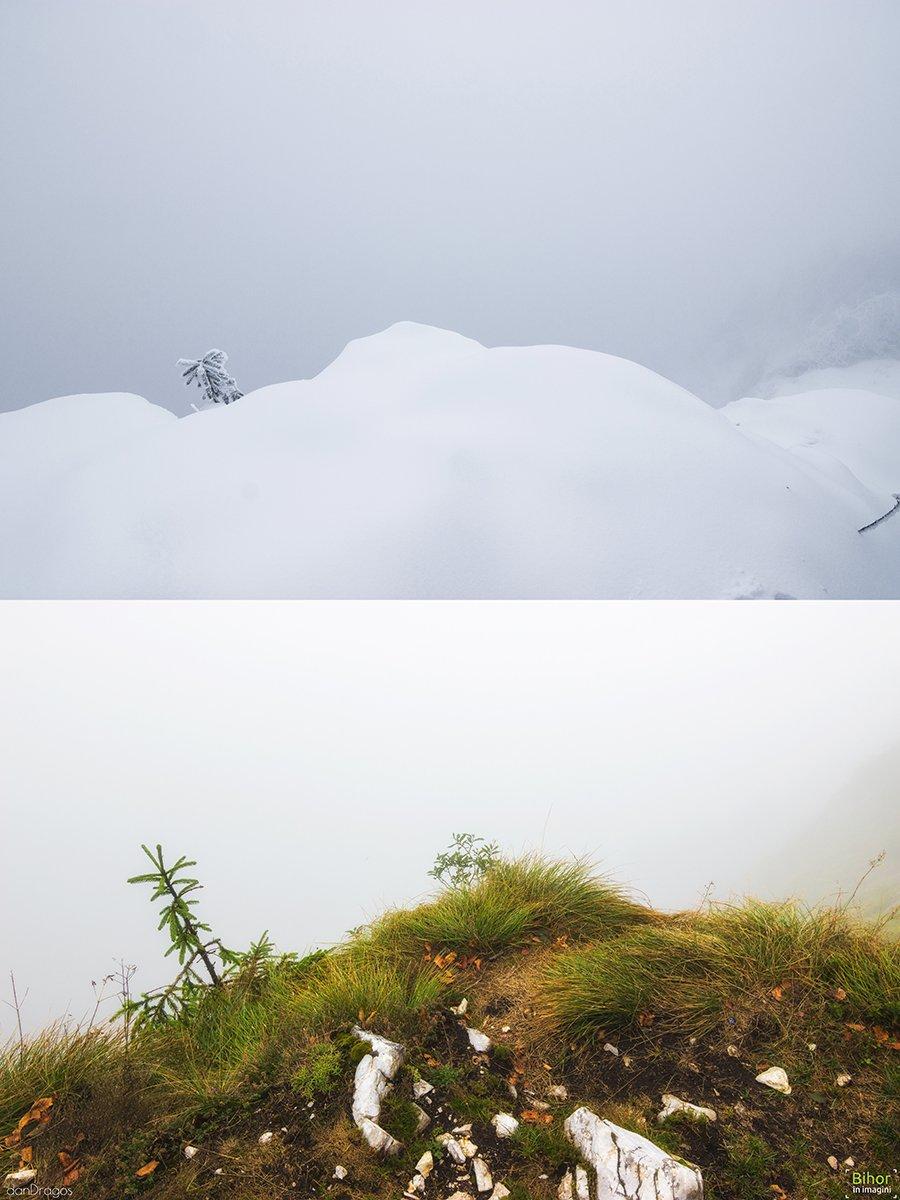 Pietrele Boghii Iarna și Toamna