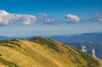 View from Fântâna Rece peak