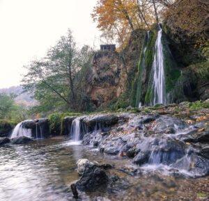 Cascada Vadu Crisului vedere panoramica