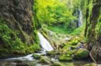 Cheile Galbenei si Cascada Evantai
