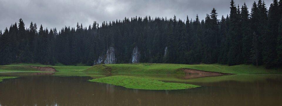 Poiana Ponor inundată