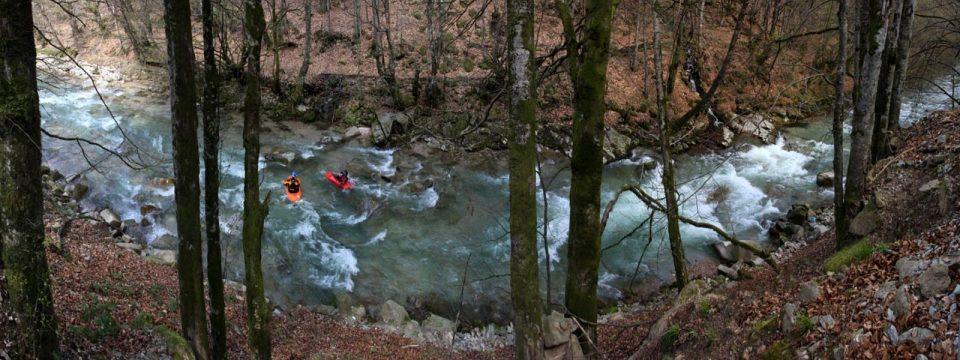 Traseu Kayaking & Rafting pe Crisul Pietros